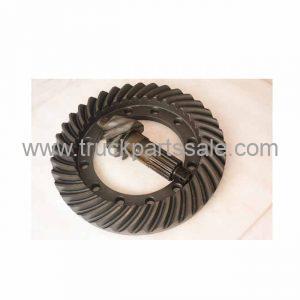 High Precision For Isuzu FTR 6HK1 6HH1 engine truck parts crown wheel pinion Ratio 7x39 1-41210280-0
