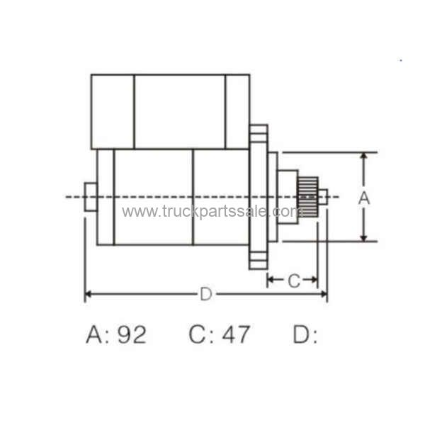 OEM M009T61171 For Mitsubishi Starter